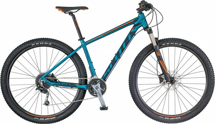 Scott Aspect 730 blue/orange 2018 - Hardtail Mountainbike