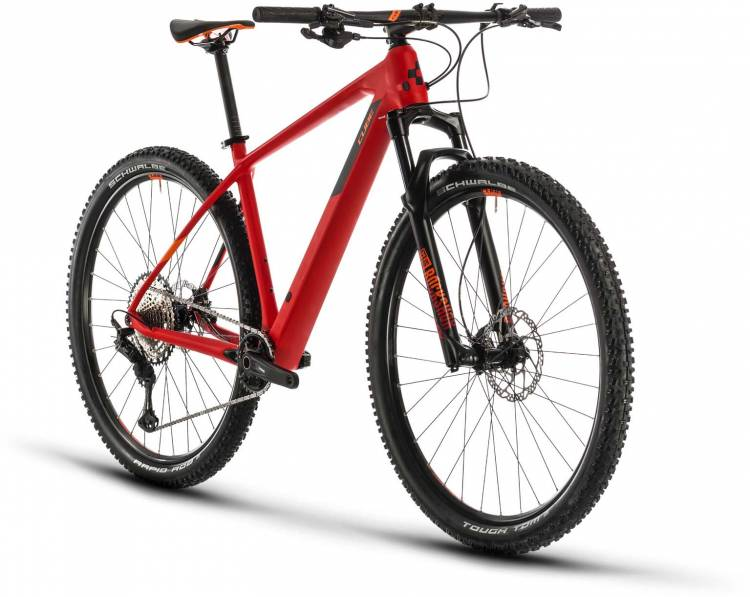 Cube Reaction C:62 Pro red n orange 2020 - Hardtail Mountainbike