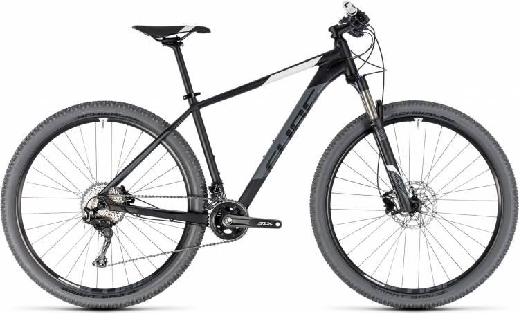 Cube Acid black n white 2018 - Hardtail Mountainbike