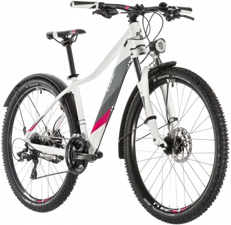 Cube Access WS Allroad white n berry 2019