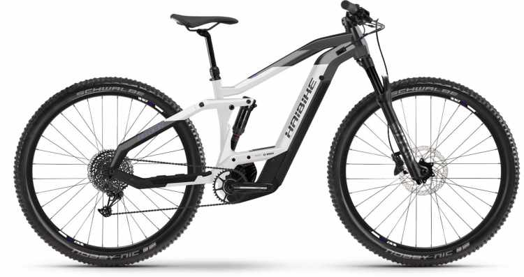 Haibike FullNine 8 i625Wh anthr./white/black 2021 - E-Bike Fully Mountainbike