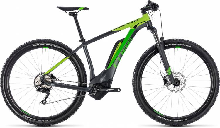 Cube Reaction Hybrid Pro 400 iridium n green 2018 - E-Bike Hardtail Mountainbike