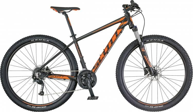 Scott Aspect 750 black/orange 2018 - Hardtail Mountainbike