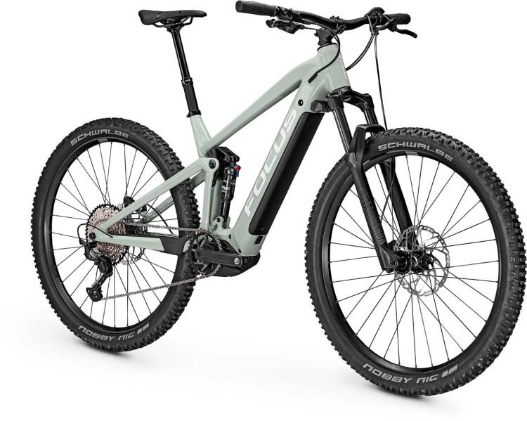 Focus Thron2 6.8 Sky Grey 2021 - E-Bike Fully Mountainbike