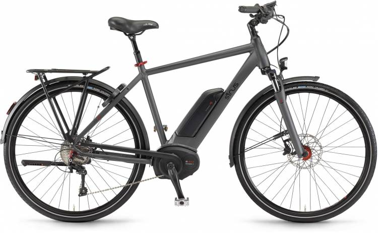 """Sinus Tria 10 500Wh 28"""" mysterypearl matt 2017 - Herren E-Bike Trekkingrad"""