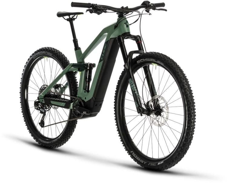 Cube Stereo Hybrid 140 HPC Race 625 29 green n sharpgreen 2020 - E-Bike Fully Mountainbike