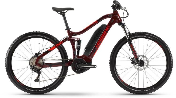 Haibike SDURO FullSeven Life 1.0 500Wh Tuscan/Schwarz/Rot 2020