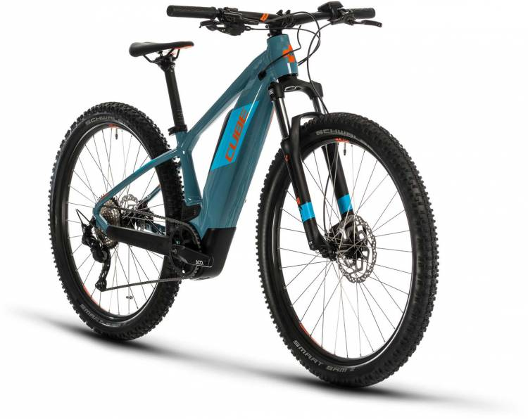 Cube Reaction Hybrid Youth 400 blue n orange 2020 - Jugendfahrrad
