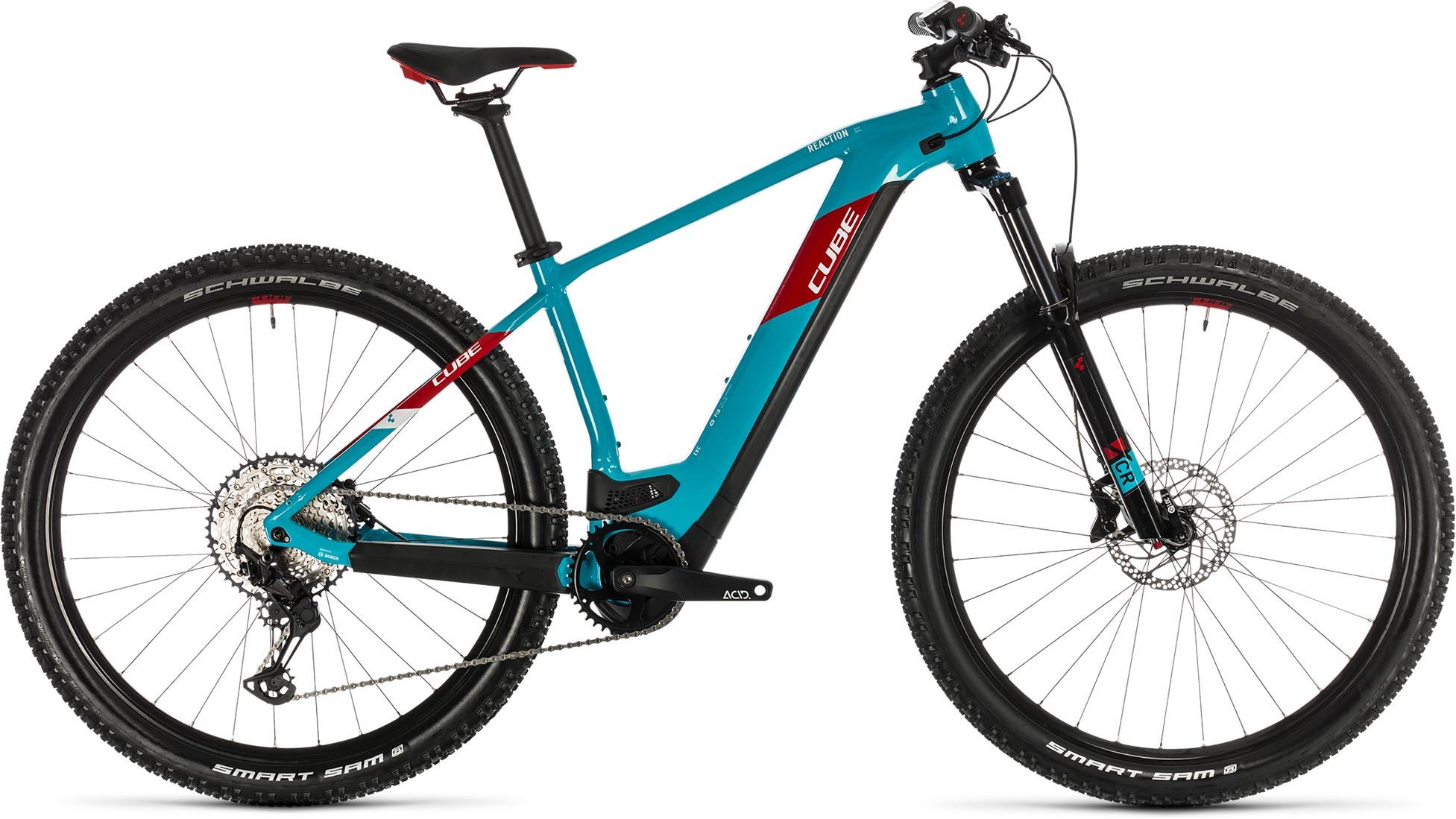 cube reaction hybrid exc 625 29 petrol n red 2020 e bike hardtail mountainbike e bike. Black Bedroom Furniture Sets. Home Design Ideas