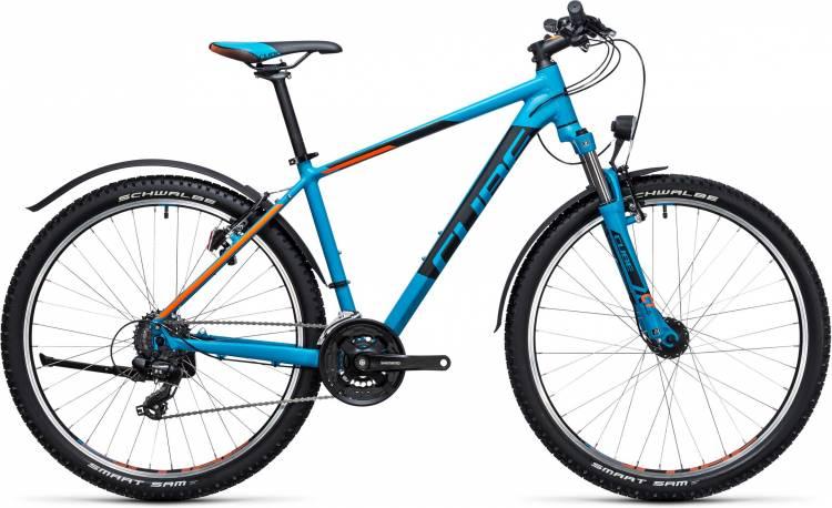 Cube Aim Allroad 27.5 blue n flashorange 2017 - Hardtail Mountainbike