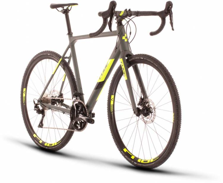 Cube Cross Race Pro grey n flashyellow 2020 - Cyclocross