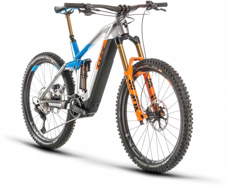 Cube Stereo Hybrid 160 HPC Actionteam 27.5 625 actionteam 2020 - E-Bike Fully Mountainbike