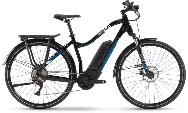 Haibike SDURO Trekking 3.0 500Wh Blau/Weiß/Schwarz 2020