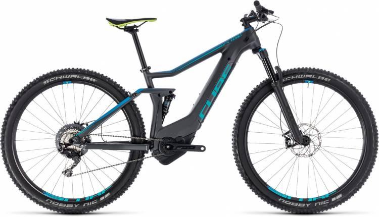 Cube Stereo Hybrid 120 HPC Race 500 iridium n blue 2018 - E-Bike Fully Mountainbike