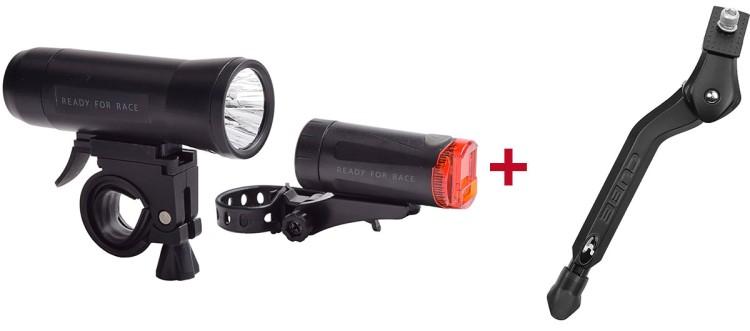 RFR Beleuchtungsset + Cube Fahrradständer