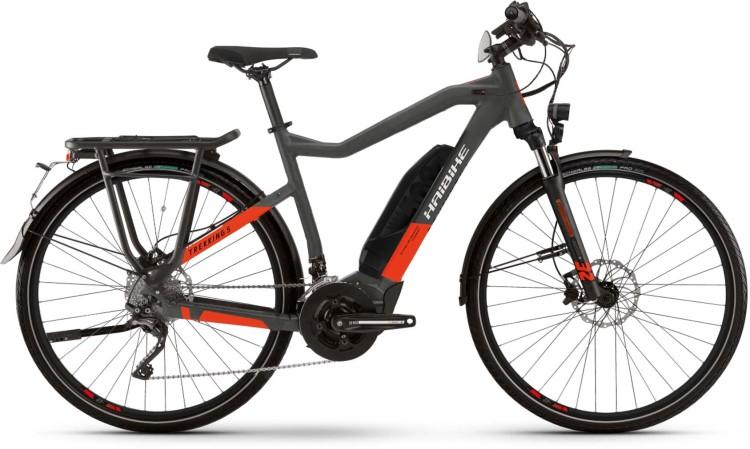 Haibike Trekking S 9 500Wh 45Km/h anthracite/red 2021 - E-Bike Trekkingrad Herren