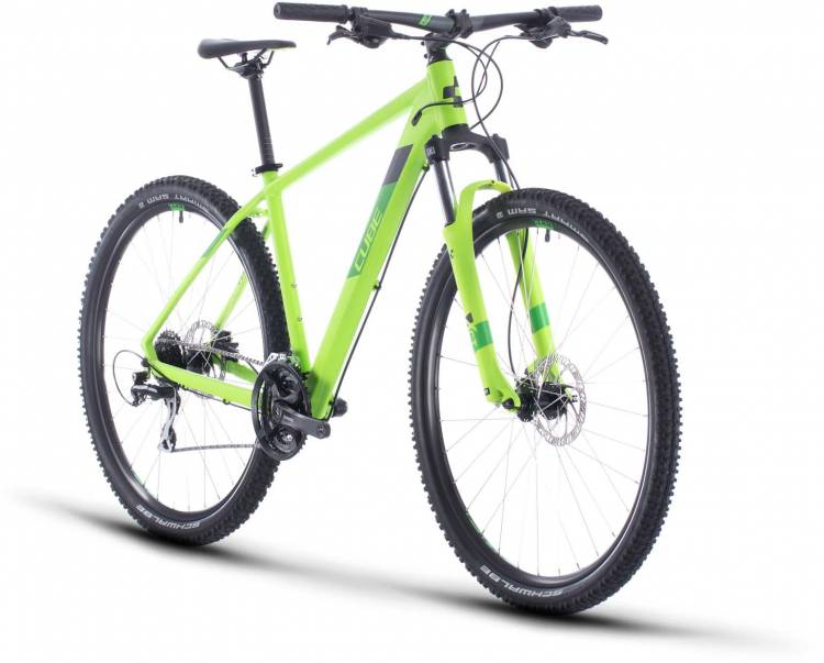 Cube Aim Pro green n iridium 2020 - Hardtail Mountainbike
