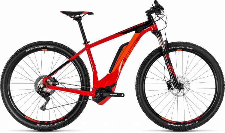Cube Reaction Hybrid Race 500 red n black 2018 - E-Bike Hardtail Mountainbike