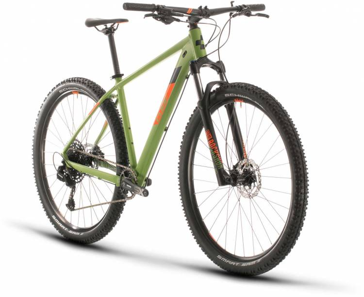 Cube Analog green n orange 2020 - Hardtail Mountainbike