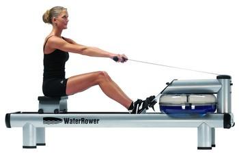 WaterRower M1 HiRise mit Monitor