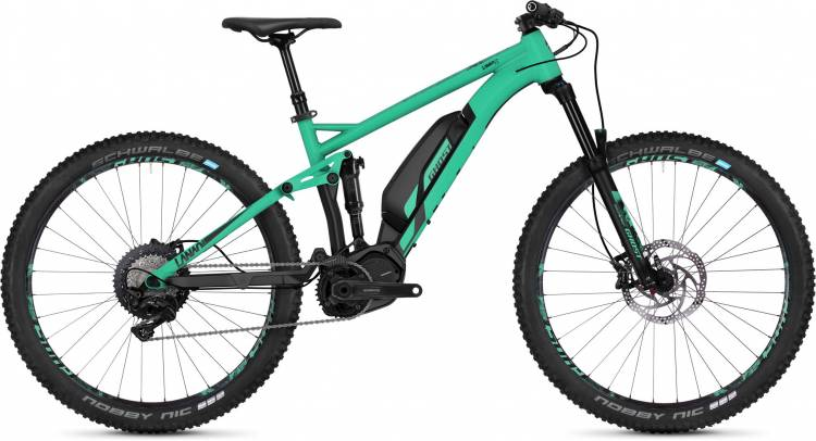 Ghost Hybride Lanao FS S4.7+ AL 2018 - Damen E-Bike Fully Mountainbike