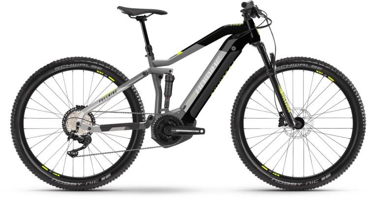Haibike FullNine 6 i630Wh urban grey/ink 2021 - E-Bike Fully Mountainbike