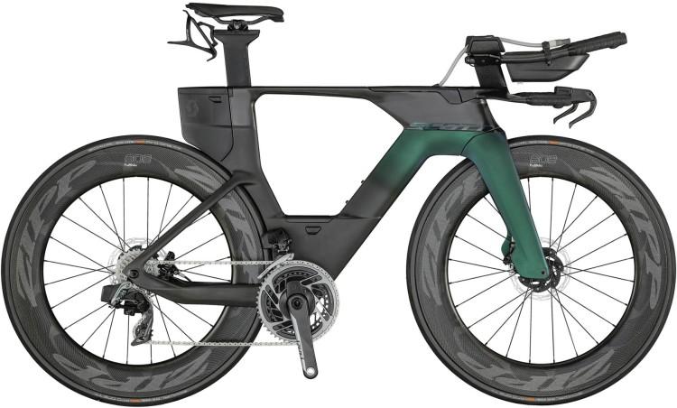 Scott Plasma Premium carbon black / prism green purple 2021 - Triathlon