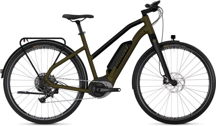 Ghost Hybride Square Trekking B6.8 AL 2019 - Damen Trapez E-Bike Trekkingrad