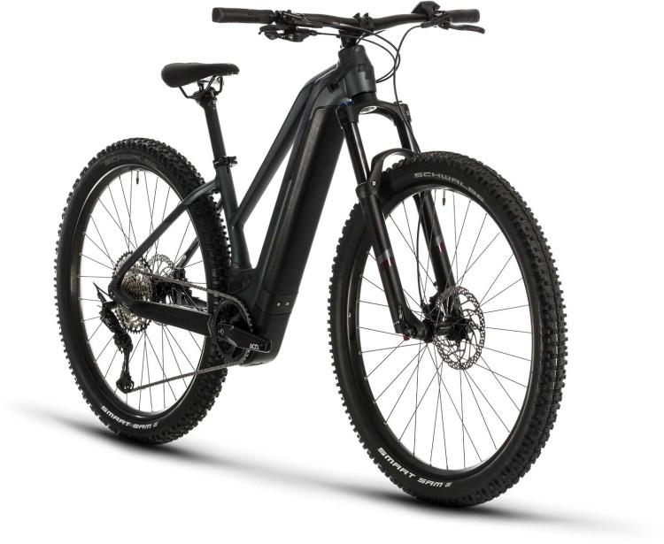 Cube Access Hybrid EXC 625 29 iridium n hazypurple 2020 - E-Bike Hardtail Mountainbike Damen