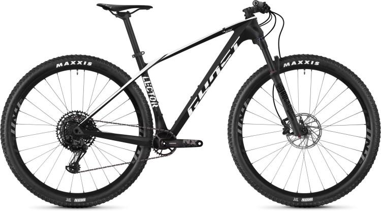Ghost Lector 3.9 LC U night black / star white 2020 - Hardtail Mountainbike