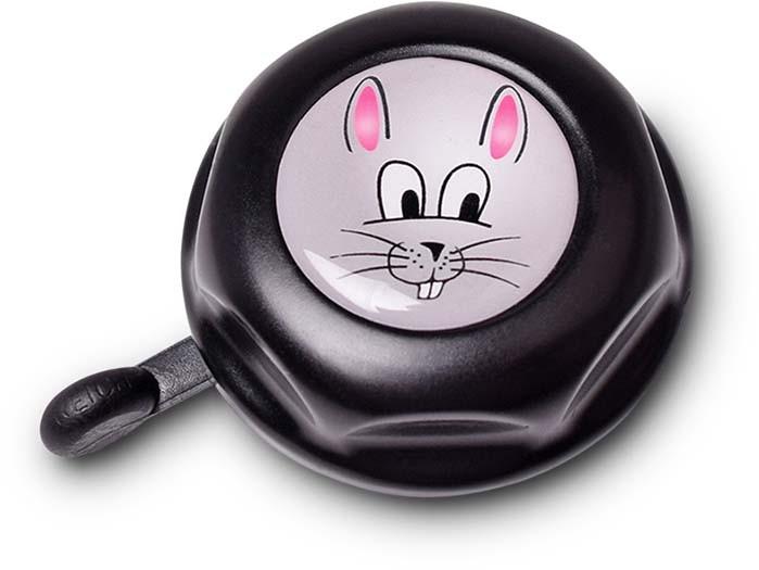"""RFR Fahrradklingel JUNIOR """"Bunny"""" black n grey"""