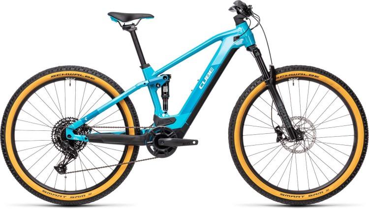 Cube Stereo Hybrid 120 Pro 625 petrol n blue 2021 - E-Bike Fully Mountainbike