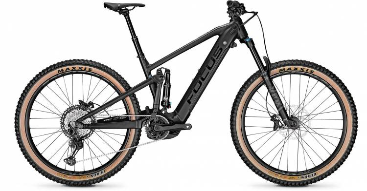 Focus Jam2 6.8 Plus Magic Black 2021 - E-Bike Fully Mountainbike