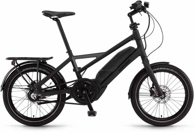 "Winora radius tour 500Wh 20"" schwarz/schiefer matt 2017 - Herren E-Bike Fitnessrad"