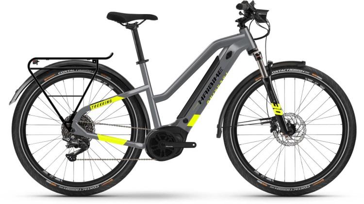 Haibike Trekking 6 i500Wh cool grey 2021 - E-Bike Trekkingrad Damen