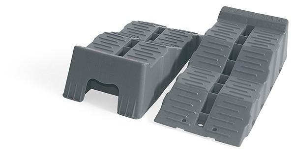 Fiamma Kit Level Up Jumbo Stufenkeil 8t Tragkraft pro Achse in praktischer Tasche