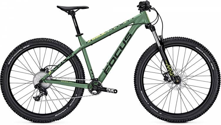 Focus Bold Pro 27 mineral green/matt 2017 - Hardtail Mountainbike