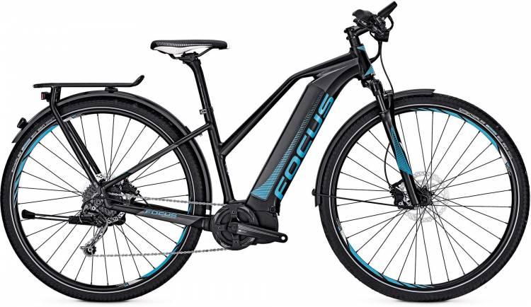 Focus Jarifa I Street 29 black 2017 - Damen Trapez E-Bike Trekkingrad