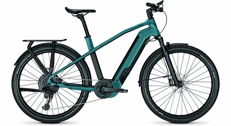 Kalkhoff Entice 7.B Advance topasblue/magicblack matt (Diamond) 2020 - E-Bike Trekkingrad Herren