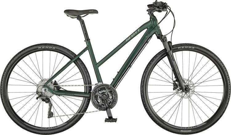 Scott Sub Cross 10 Lady deep green / majolica green / black 2021 - Crossrad Damen