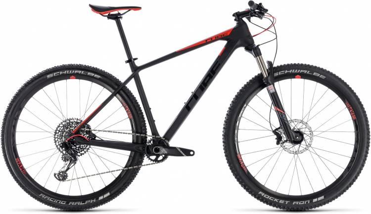 Cube Reaction C:62 Pro carbon n red 2018 - Hardtail Mountainbike