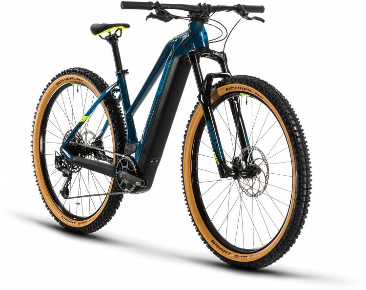 Cube Reaction Hybrid SL 625 29 blue n yellow 2020 - E-Bike Hardtail Mountainbike Damen