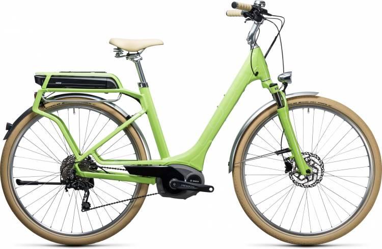 Cube Elly Ride Hybrid 500 green n white Easy Entry 2017