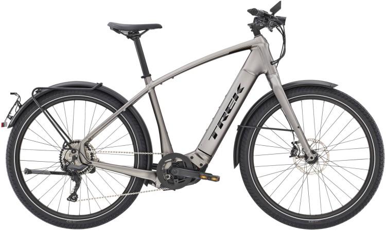 Trek Allant+ 8S Matte Gunmetal 45km/h 2020 - E-Bike Trekkingrad Herren