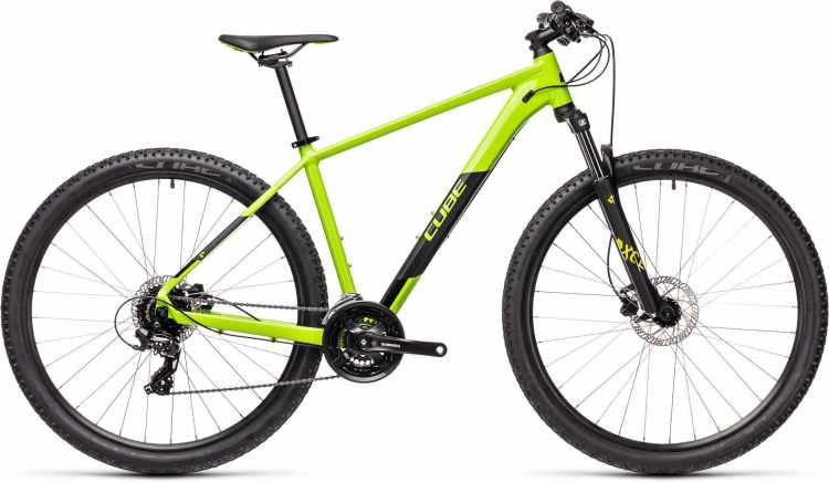 Cube Aim Pro green n black 2021 - Hardtail Mountainbike