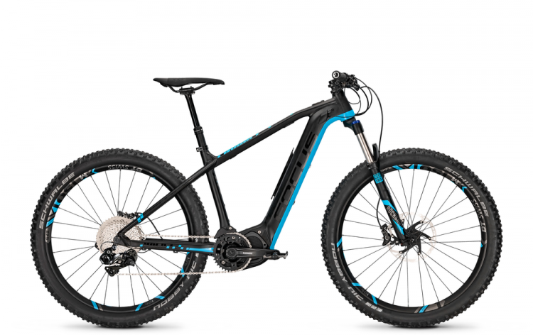 Focus Bold2 Plus Pro 27 black/blue 2017 - E-Bike Hardtail Mountainbike