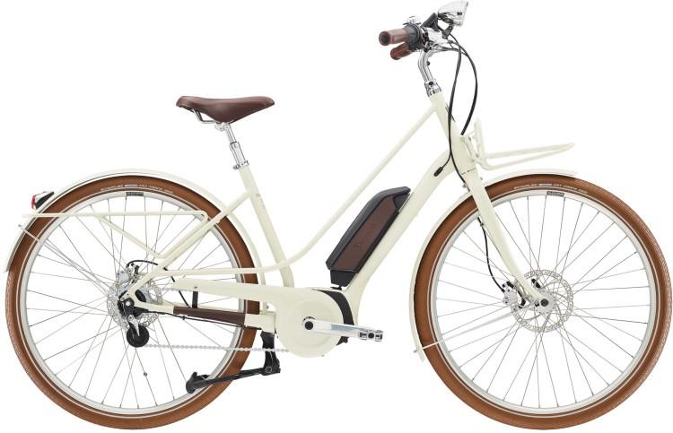 Diamant Juna Deluxe+ WIE Tofanaweiss 2020 - E-Bike Trekkingrad Damen