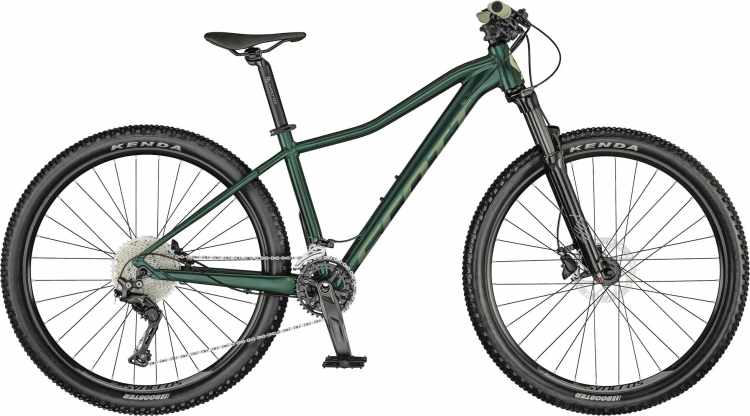 Scott Contessa Active 10 deep teal green / mojolica green 2021 - Hardtail Mountainbike Damen
