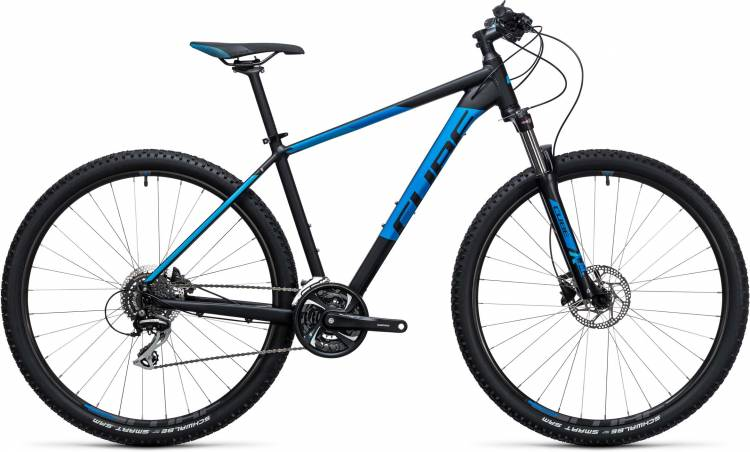 Cube Aim Race 27.5/29 black n blue 2017 - Hardtail Mountainbike