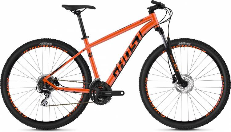 Ghost Kato 2.9 AL U monarch orange / jet black 2020 - Hardtail Mountainbike